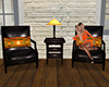 ~N~ Autumn Chat Chairs