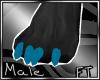(M)Blu Fur Paws [FT]