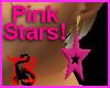 *Pink Star Earrings