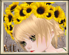 Little sunflower hoop