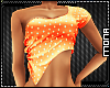 ~W~ Polka Dot Top Orange
