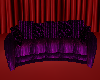 Purple &black Couch