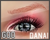 {G} Danai Brows Red Lt