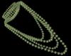 ײַGreen Pearls Necklace