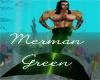 MrsJ Green MerMan Tail