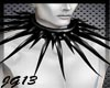 PvC Long Spiked Collar