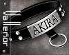-V- Akira collar