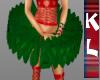 layerable green tutu