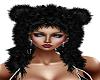Bear Hat Black