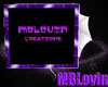 MBLovin Creations Sign