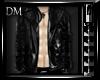 [DM] Black Latex Coat