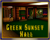 Green Sunset Hall