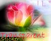 !L* Lovely Rose Sticker