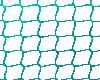 Metallic Teal Round Net