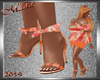 Tankini Orange Shoes