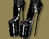 Warrior Latex Boots