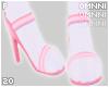 """. Bell """"heels pink"""