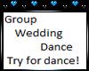 Dance for wedding