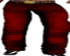 Red Vampire Muscle Jeans