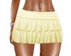 Skirt Ruffled Gold