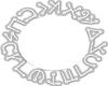 Holy Enochian Circle*