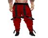 red black pants