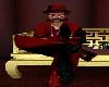 BGS RED BLK FUR DERBY