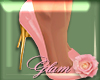 [G]Holly Heels Pink