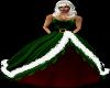 [GA]Xmas Ball Gown Green