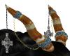 Celtic Knot Horns