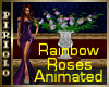 Rainbow Roses Animated