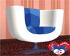 WHITE RETRO CUP CHAIR