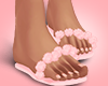 Pink Silks Flipflops