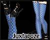 Blue Fishnets
