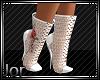 *JJ*Roses on White boots