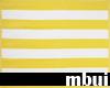 yellow striped beach...