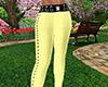 Yellow Skinny Pants RLS