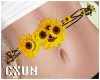 Cute Sunflower Belt