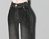 Denim wide leg pants