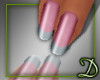 [D] French Tip Nails