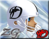 Football Helmet Dauphins