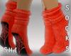 S* Shiro Boo Socks
