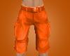 #Bright Orange Cargos#