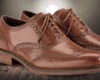 Vintage LBrown Oxford's