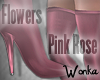 W° Pink Rose Boots .RLL