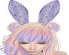 {Z} Purple Crystal Bunny