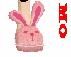 M Bunny slippers