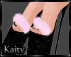 K! Wanderlust Fur Pumps