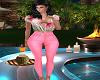 Sassy Pink Cargo Pants