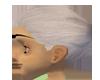 (M)White Hair Base